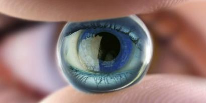 lenti a contatto effetto zoom
