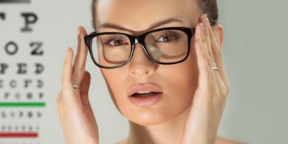 gradazione delle lenti a contatto e occhiali