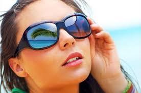 Occhiali da sole e lenti a contatto
