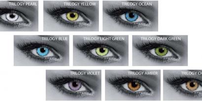 Le lenti a contatto colorate su 1000Lenti