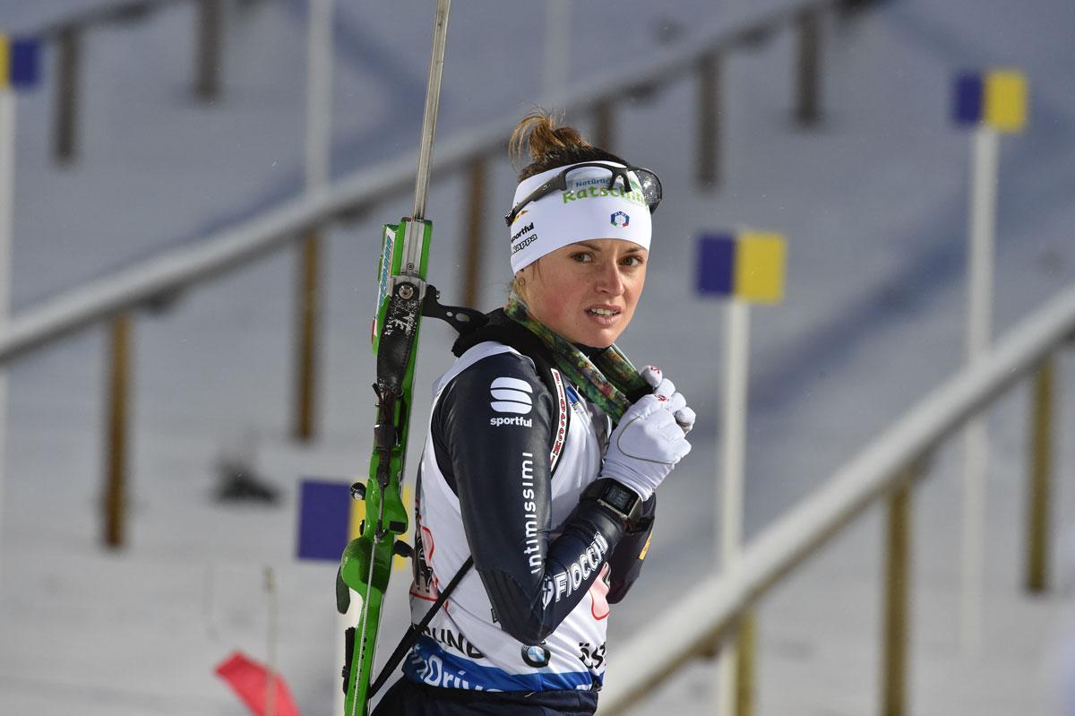 karin oberhofer atleta italiana di biathlon