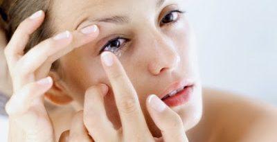 5 cose da non fare con le lenti a contatto